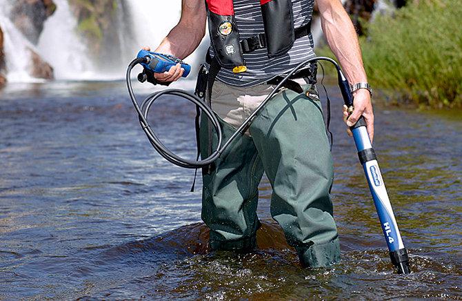 Sonda Multiparamétrica para el análisis de calidad del agua